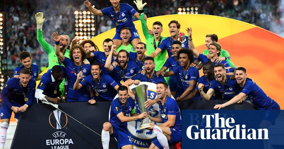 Chelsea Win Europa League After Eden Hazard Inspires