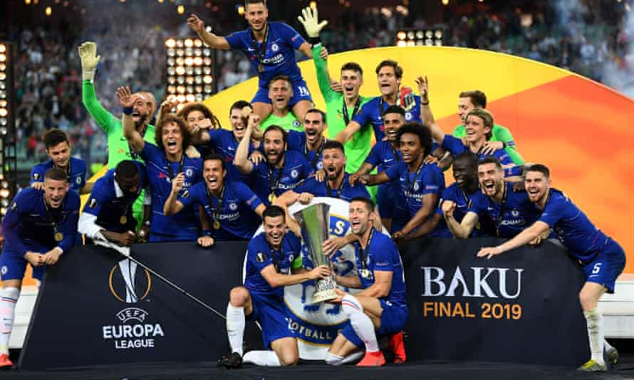 Chelsea win in Baku