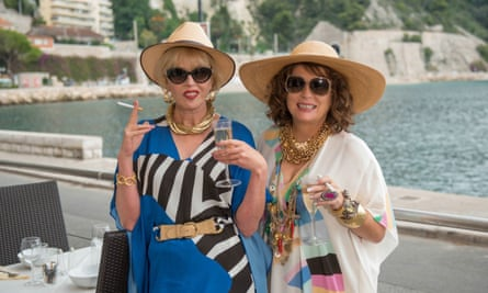 Absolutely Fabulous – The Movie: positively 90s.