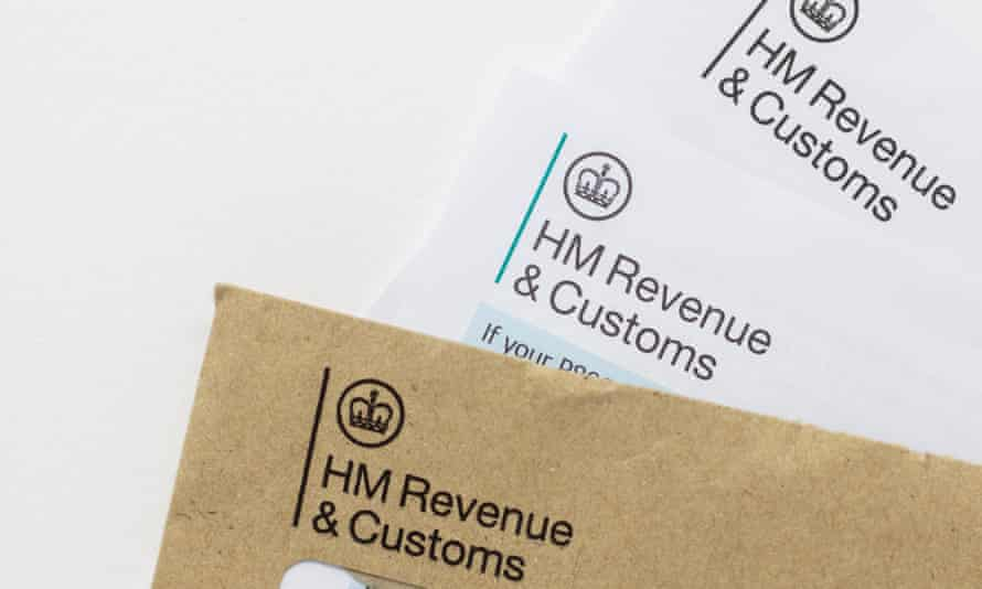Paperwork from HMRC