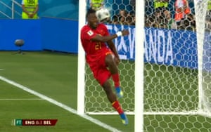 At least they didn't do a Michy Batshuayi who smacked himself in the face with the ball, via the post, in celebration.