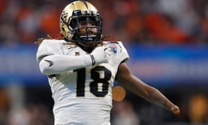Shaquem Griffin was a star college player at the University of Central Florida
