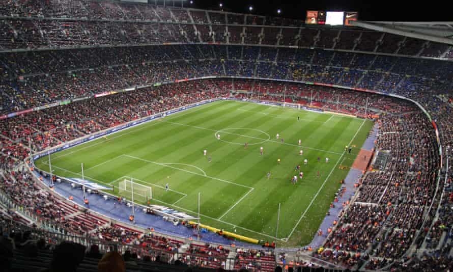 The football enthusiast's essential pitstop - Camp Nou Barcelona's football stadium.