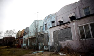 Abandoned homes in Gary, Indiana
