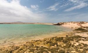 Playa de la Concha, Feurteventura