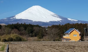 Mount Fuji earlier this year.