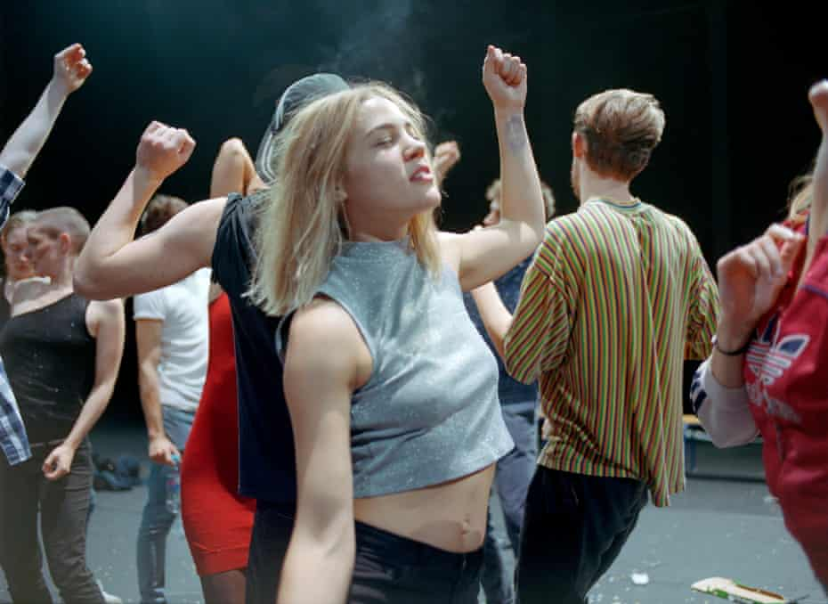 Gisèle Vienne's 2017 dance piece Crowd