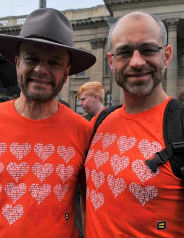 Fighting for equal marriage rights at Equal Love Rally in 2013