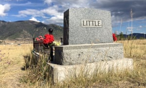 Frank Little's headstone in Mountain View cemetery, Butte, Montana.