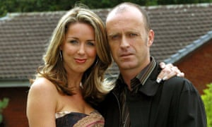 Brookside Close for comfort … Claire Sweeney as Lindsey and Paul Usher as Barry.