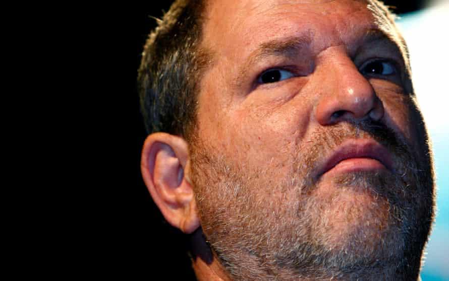 Head shot of Harvey Weinstein, in 2007