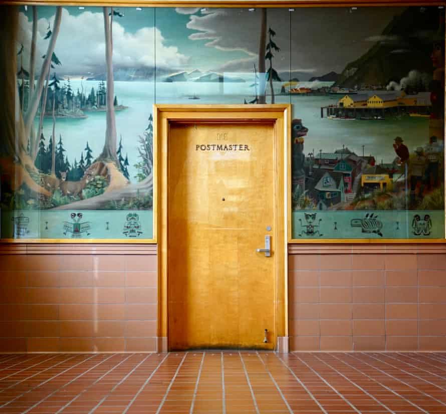 Post Office, Wrangell, Alaska.