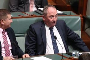 All of the facesBarnaby Joyce arrives for question time