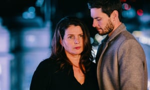 There is something here for everyone, my friends … Julia Ormond and Ben Barnes in Gold Digger.