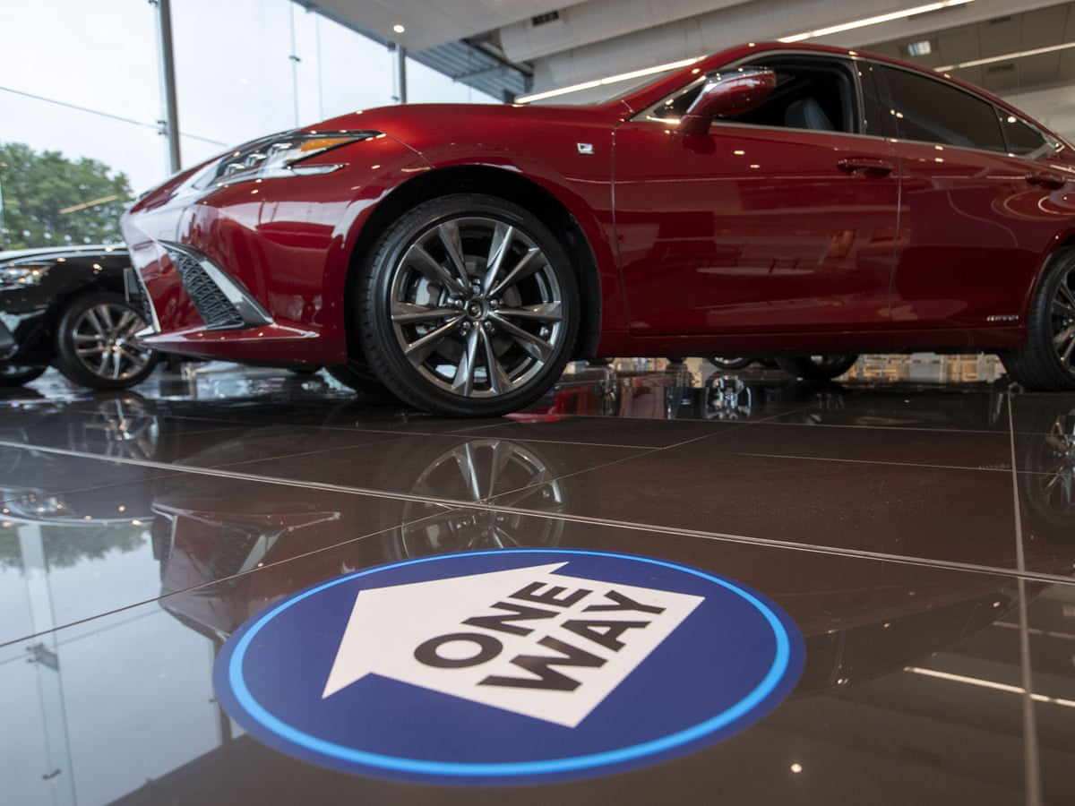 New Car Sales Rise In Uk After Coronavirus Lockdown Decline Business The Guardian