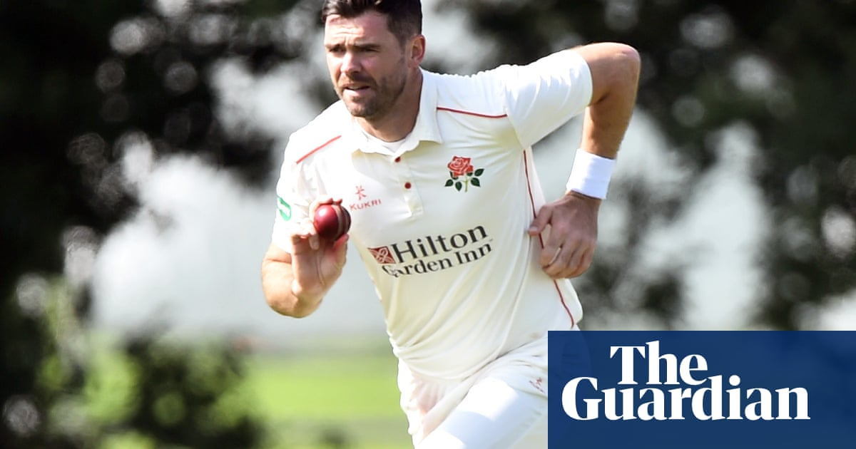 England's Jimmy Anderson takes two wickets in Ashes comeback bid