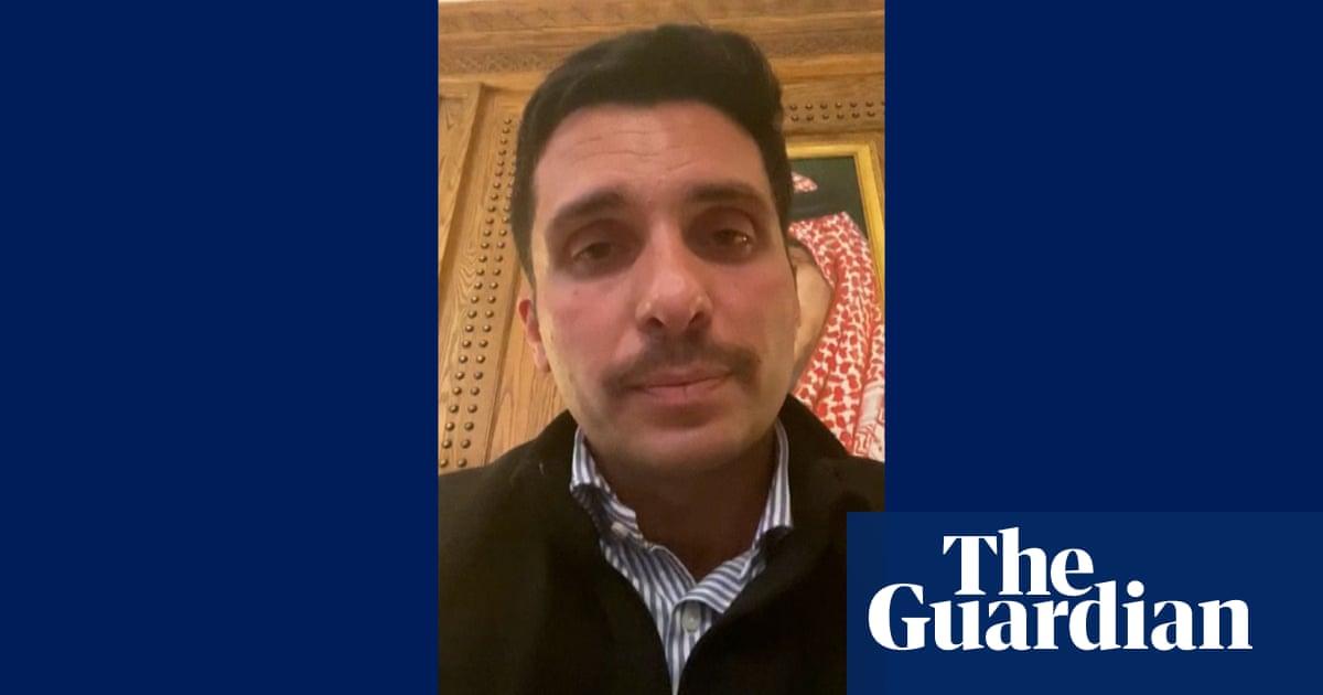Jordan's former crown prince says he's under house arrest – video