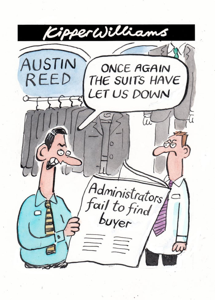 Kipper Williams On Austin Reed Business The Guardian