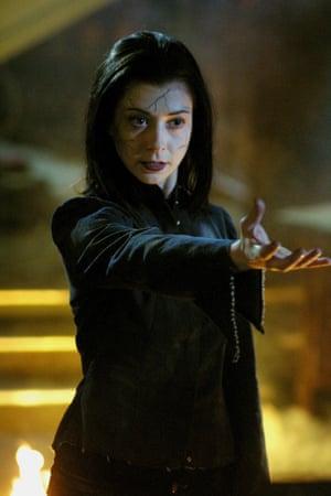 Alyson Hannigan in Buffy the Vampire Slayer.