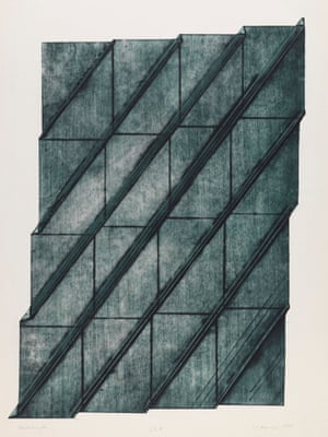 Seven Foldings 1975, by Dóra Maurer
