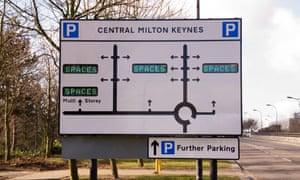 Parking spaces Milton Keynes