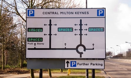 Parking spaces Milton Keynes