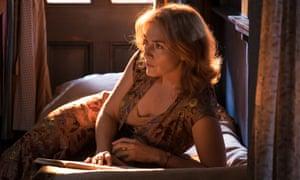 Illuminated … Kate Winslet in Wonder Wheel.
