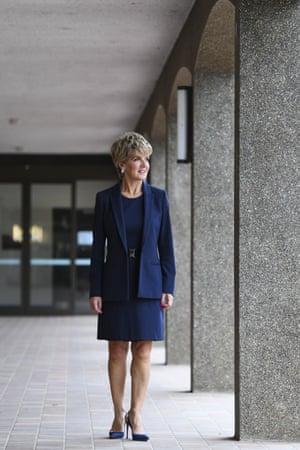 Australian National University chancellor Julie Bishop.
