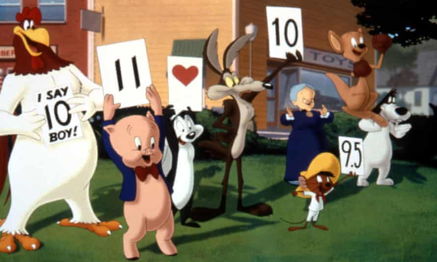 Stinking up the place ... Pepé Le Pew (third left).