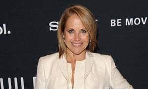 Katie Couric: preparing a new interview-based podcast.