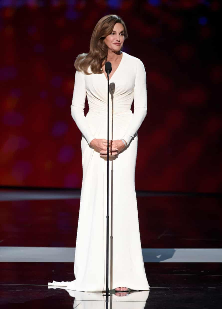 Caitlyn Jenner at the ESPYs in 2015