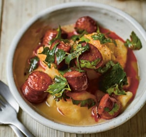Potato and chorizo stew.