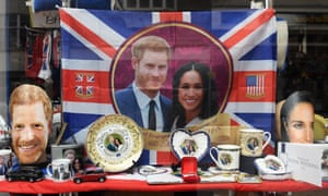 Royal wedding merchandise on sale in Windsor. The ABC has come under fire from News Corp and Coalition MPs for sending a TV crew to London to cover the nuptials.