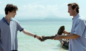 Call me by your name review gorgeous gay love story seduces and overwhelming passion timothe chalamet left and armie hammer ccuart Choice Image