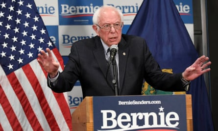 Bernie Sanders: 'The American people deserve and require leadership from Washington that acts aggressively.'