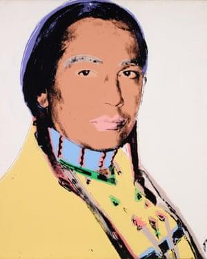 Andy Warhol's the American Indian at TMoCA.
