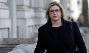 The UK's paymaster general, Penny Mordaunt