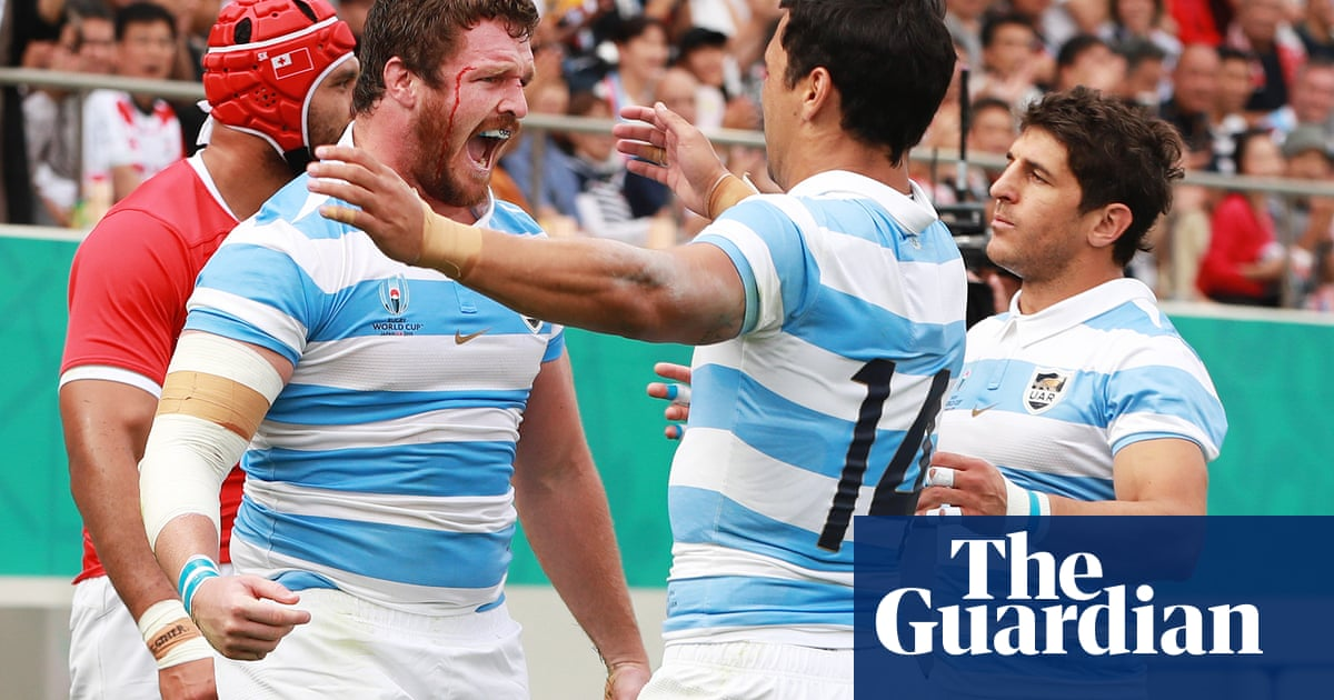 Argentinas Rugby World Cup win over Tonga a tale of two halves