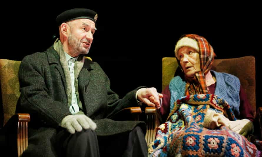 Pathos of the years … Tam Dean Burn and Ann Louise Ross in Milk.