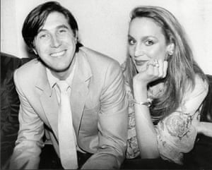 Bryan Ferry and Jerry Hall.