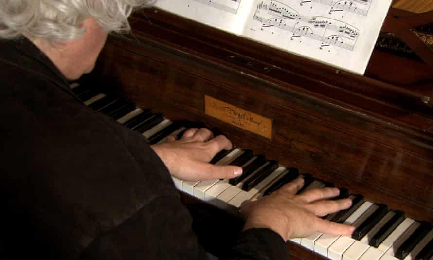Expert witness … Ronald Brautigam in In Search of Chopin.
