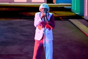 Tyler the Creator performs onstage during the 62nd Annual Grammy Awards .