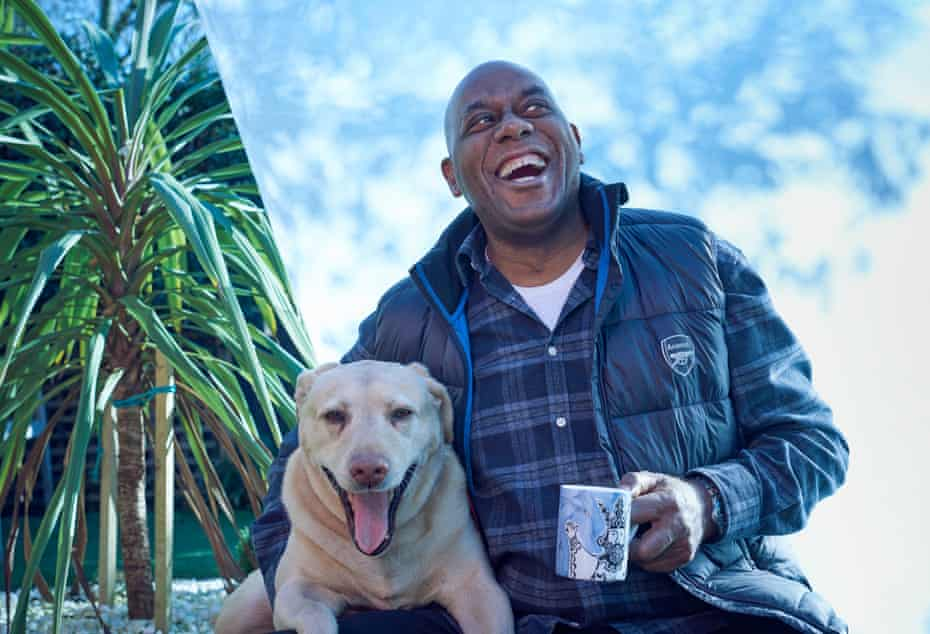 Ainsley Harriott and his dog