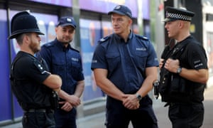 Polish police officers join those from Essex in Harlow this month after a Polish man was killed in a possible hate crime. The Scottish report follows a rise in incidents across the UK.