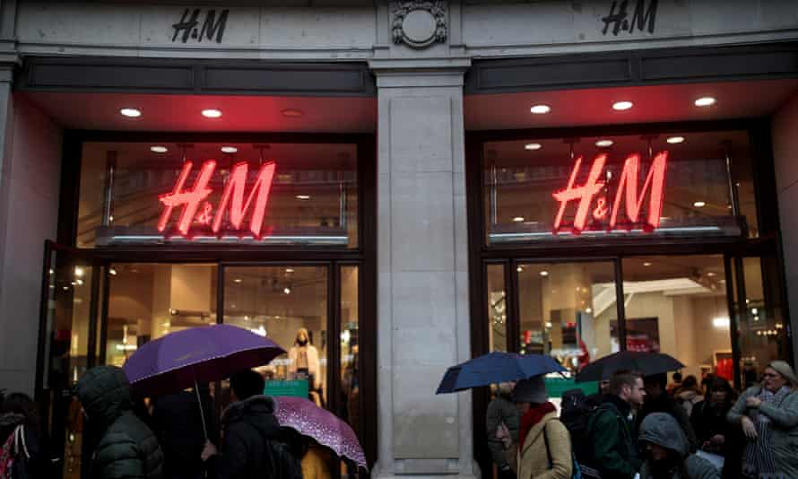 H&M store on Oxford Street