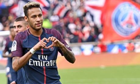 European roundup: Neymar double helps PSG breeze past Bordeaux