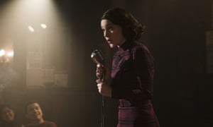 Spontaneous and personal, original and outrageous … Rachel Brosnahan as Midge Maisel.