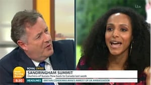 Afua Hirsch and Piers Morgan clash on GMB