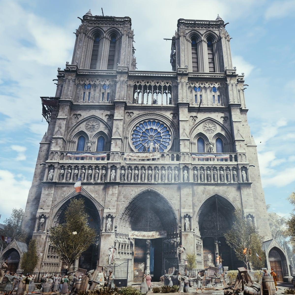 Assassin S Creed Creators Pledge 500 000 To Notre Dame Games