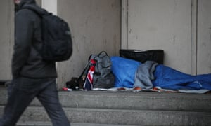 Terminally ill homeless people are dying in hostels.
